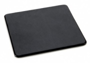 Square Coaster in Black Belluno Leather