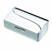 Silver Plated Compact