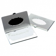 Fluted 'Oval' Business Card Holders
