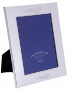 Silver Plated Single Picture Frame (3.5x5in)
