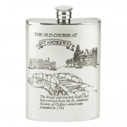 8oz Golf Flask - St. Andrews