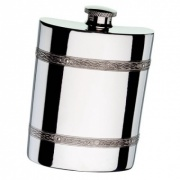 Celtic Band 6oz Pewter Flask