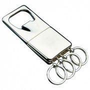 Silver Keyfob with Bottle Opener