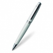 White and Silver Ballpoint Pen in Presentation Case