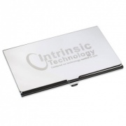 Chrome Plated Business Card Case